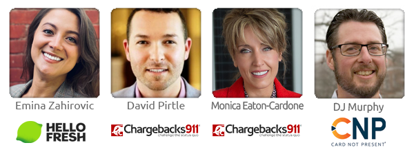 CB911 Webinar 061621 Fraud and Chargebacks in a Post-Pandemic World Speakers