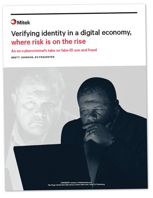 Cover Mitek White Paper Identity Verification Brett Johnson