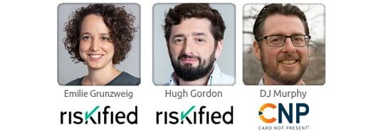 Speakers 3UP Riskified Webinar Holiday Fraud